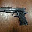 Лучший Пистолет металл Кольт Colt Страйкбольный 1 в 1 с настоящим, фото 2