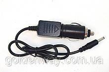 Автомобильный адаптер штекер питания в прикуриватель 12 Вольт для Т2 тюнера и TV телевизора