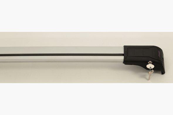 Поперечный багажник (2 шт, алюминий) Audi Q3 2011↗ гг.