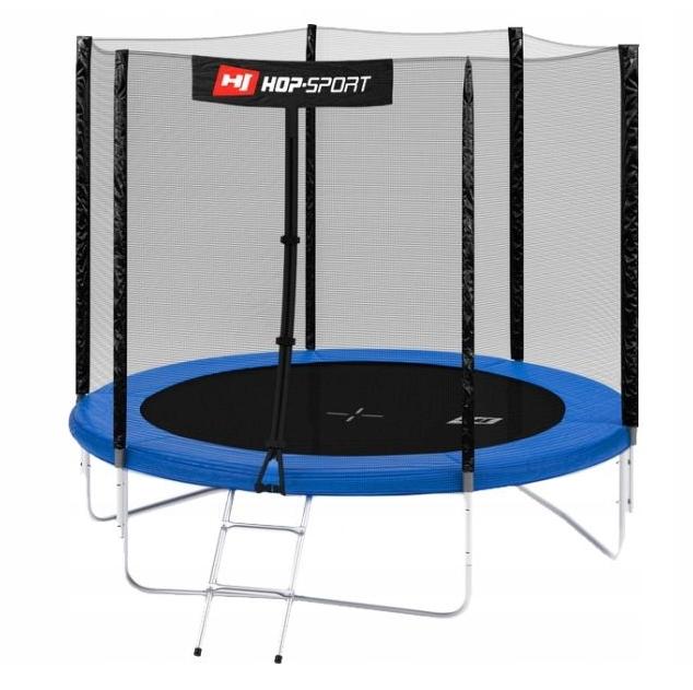 Батут 244cm Hop-Sport + лестница