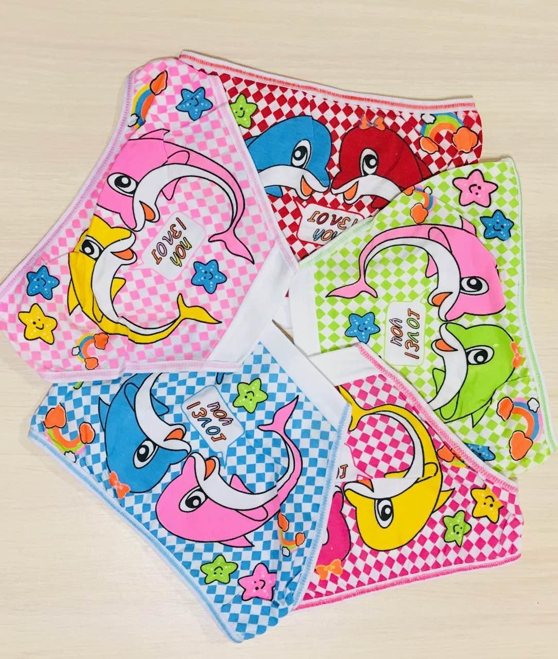 Трусики-плавки детские для девочек хлопок Zevs размер S (4-6 лет)