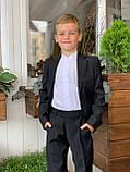 Классический костюм черный подросток.Ammar Турция, 152-176, фото 2