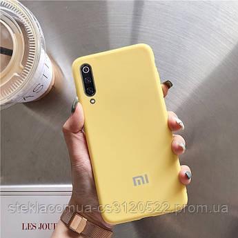 Силиконовый Чехол Для Xiaomi Mi 9 SE Желтый