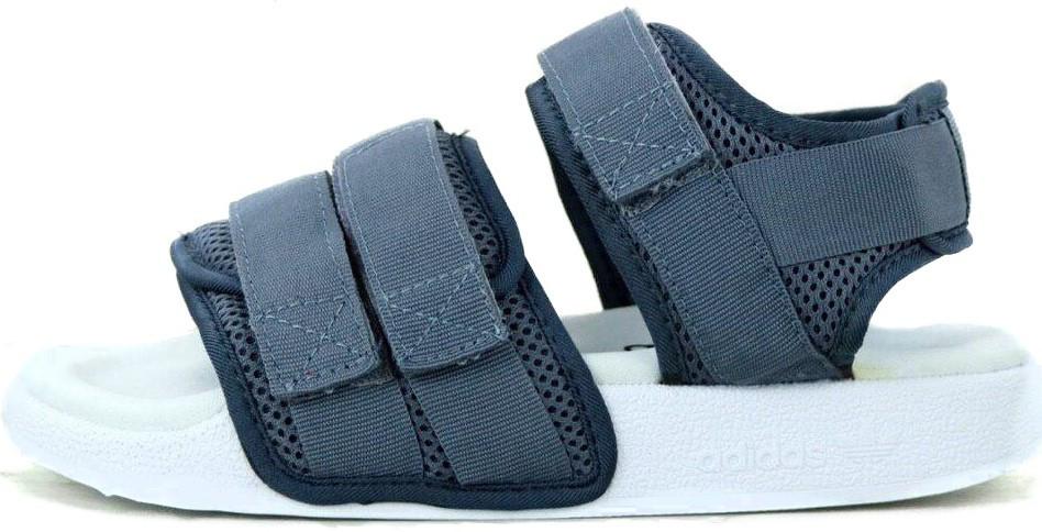 "Женские сандали Adidas Sandals  ""White/Gray""  ( в стиле Адидас )"