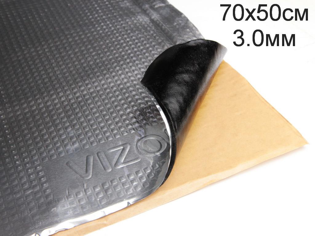 Виброизоляция Визол 3.0мм (70x50 cм)
