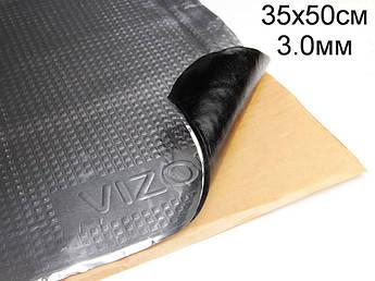 Виброизоляция Визол 3.0 мм (35x50 cм)