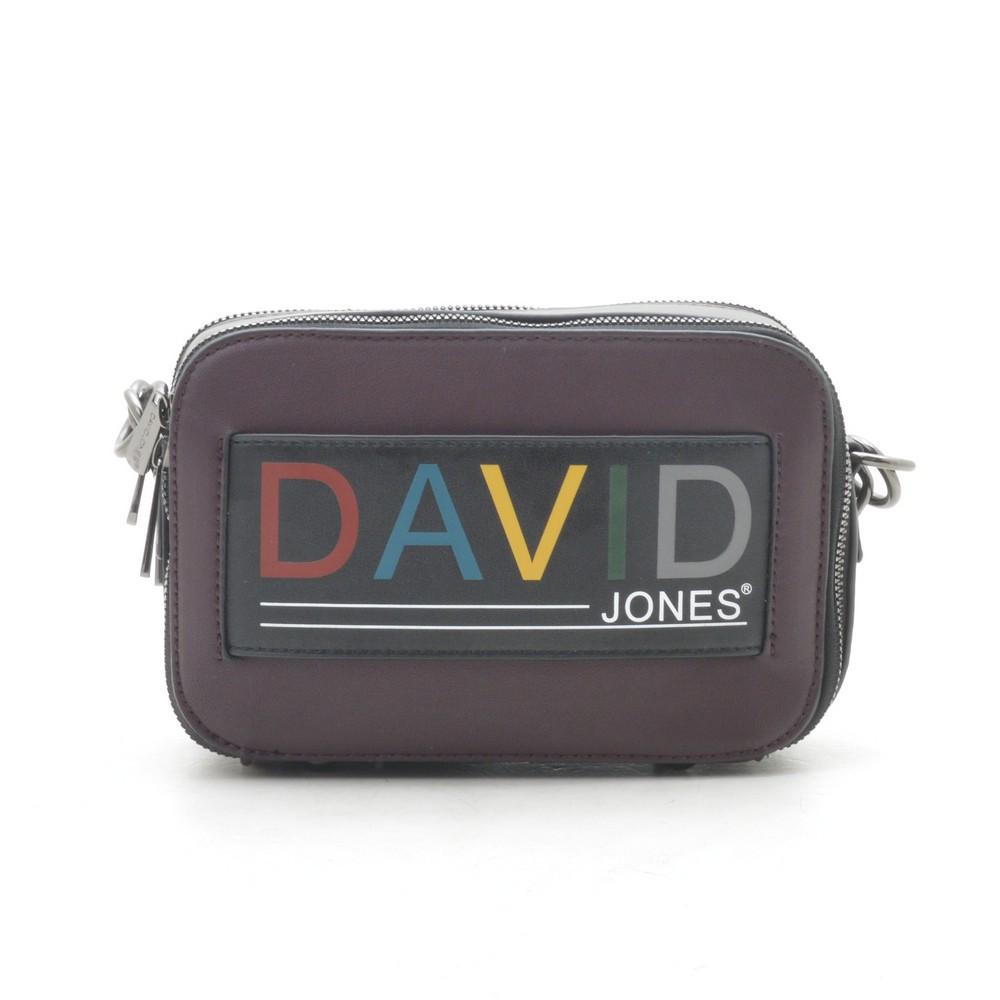 Клатч D. Jones dark bordeaux/d. taupe