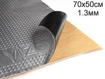 Виброизоляция Визол 1.3 мм (70x50 cм)