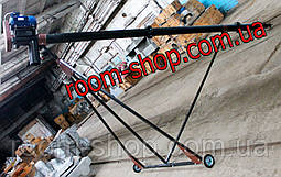 Шнековый загрузчик ( шнек винтовой ) диаметром 133 мм, длиною 7 метров, фото 2
