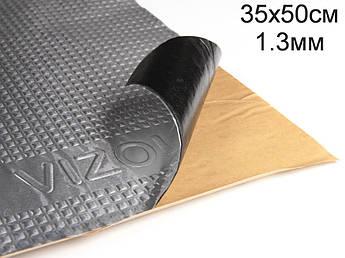 Виброизоляция Визол 1.3 мм (35x50 cм)