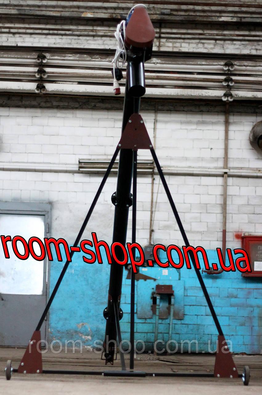 Шнековый загрузчик ( шнек винтовой ) диаметром 133 мм, длиною 7 метров