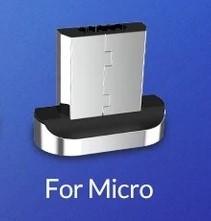 Роз'єм магнітний TOPK micro USB для магнітного кабелю