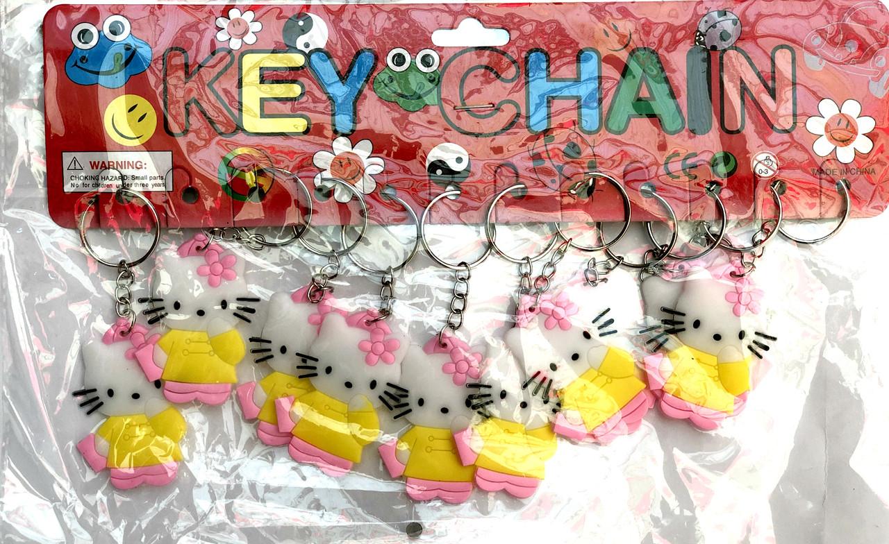 Брелок резиновый Hello Kitty