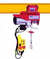 Таль 500/1000кг электрическая передвижная с тележкой Euro Craft HJ208 2000 Вт, 12/6м