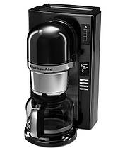 Кавоварка KitchenAid 5KCM0802EOB, заливного типу пуровер, графин 1.18 л, чорний