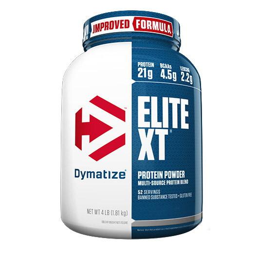Комплексный протеин Dymatize Elite XT (2 кг) диматайз элит хт шоколад-арахис