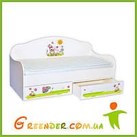 """Кровать диванчик для ребенка """"Совенок"""""""
