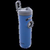 Термочашка-поилка Stanley Mountain eCycle Evolution 0.6 л синяя, фото 1