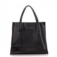Кожаная сумка POOLPARTY Soho (soho-versa-black)