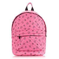 Рюкзак стеганый с уточками POOLPARTY (backpack-theone-pink-ducks)