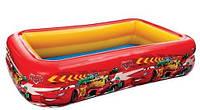 Детский бассейн ТАЧКИ, надувной, Intex 57478