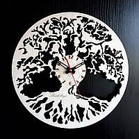 Настенные деревянные часы Shasheltoys Диаметр 35 см (090125)
