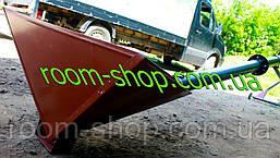 Шнековый транспортер (гвинтовий навантажувач) диаметром 133 мм, длиною 9 метров, фото 3