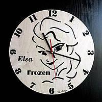 Настенные деревянные часы Shasheltoys Диаметр 35 см (090134)