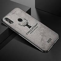 Чехол Deer для Huawei Honor 8X с джинсовым покрытием (3 Цвета)