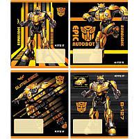 Зошит шкільний Kite Transformers BumbleBee Movie, 12 аркушів, лінія TF19-234