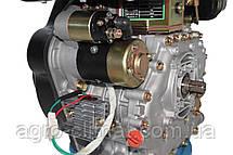 Двигатель дизельный GrunWelt GW186FВE (9,5 л.с., шлицы), фото 3