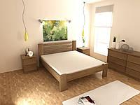 Деревянная кровать Титан 120х190 см MegaOpt