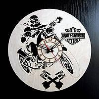 Настенные деревянные часы Shasheltoys Диаметр 35 см (090119)