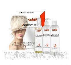 Комплекс восстановления волос DUCASTEL XRESCUE Keratrix 500 мл*3