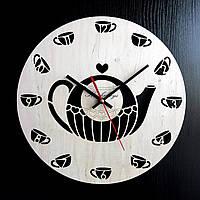 Настенные деревянные часы Shasheltoys Диаметр 35 см (090121)