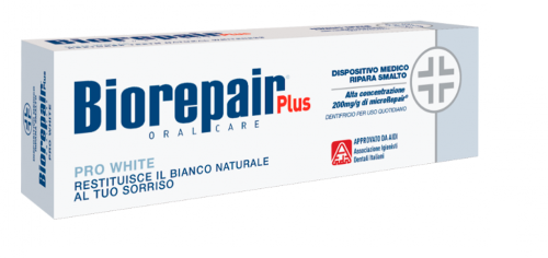 "Biorepair Plus Зубна паста професійна ""PRO White"" 75 мл"
