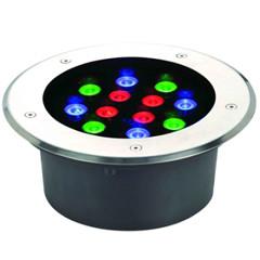 Встраиваемый лед светильник Ecolend ip68 12*1W RGB