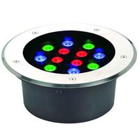 Подводный встраиваемый светильник 12*1W RGB ip68 Ecolend