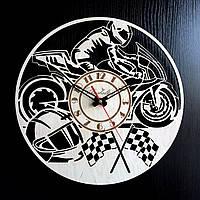 Настенные деревянные часы Shasheltoys Диаметр 35 см (090120)