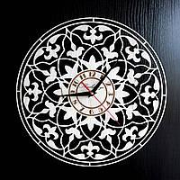 Настенные деревянные часы Shasheltoys Диаметр 35 см (090118)