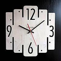 Настенные деревянные часы Shasheltoys Диаметр 35 см (090122)