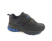 Кроссовки кожаные ТМ Bona 750L р. 31 - 36 для мальчика черные, фото 1