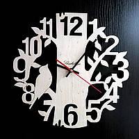 Настенные деревянные часы Shasheltoys Диаметр 35 см (090126)