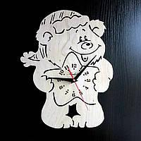 Настенные деревянные часы Shasheltoys Диаметр 35 см (090135)