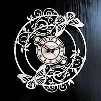 Настенные деревянные часы Shasheltoys Диаметр 35 см (090127)