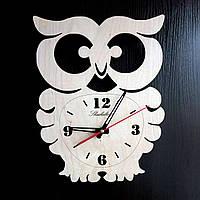 Настенные деревянные часы Shasheltoys Диаметр 35 см (090132)