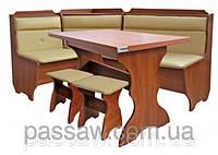 Кухонный уголок с простым столом Кардинал