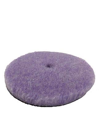 Полировальный круг гибридная шерсть - Lake Country Purple Foamed Wool Buffing/Polishing 150 мм. (58-32625WH-1), фото 2