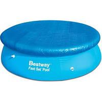 Тент для надувного бассейна Bestway диаметром 244 см.