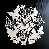 Настенные деревянные часы Shasheltoys Диаметр 35 см (090133)